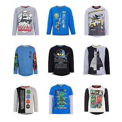 Lego Long Sleeve T-Shirt Tops | Lego City Ninjago Star Wars