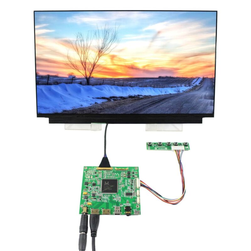 "HD MI DP LCD Controller Board 13.3"" LQ133D1JW33 3840x2160 IPS 4K LCD Screen"