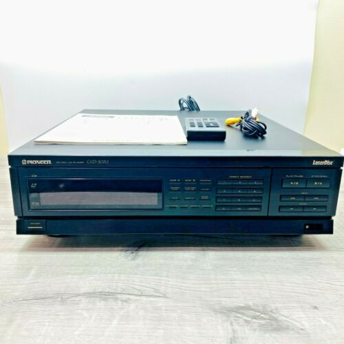 Pioneer CLD-2070 LaserDisc Player Automatic Side Change REMOTE MANUAL TESTED