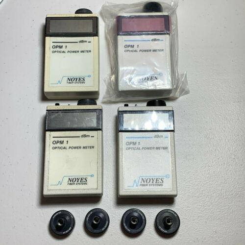 Lot of 4 AFL Noyes OPM1 Meters - Fiber Optic Power Meters