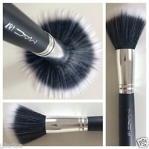 Mac 187 brand feel stipple Makeup brush For Foundation powder blusher bronzer
