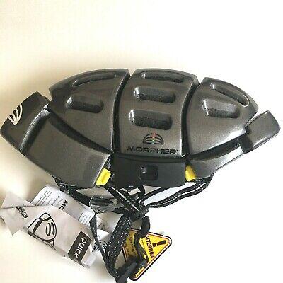 Morpher Men's Folding Helmet, Size M/L, Gray Color, Adjustable