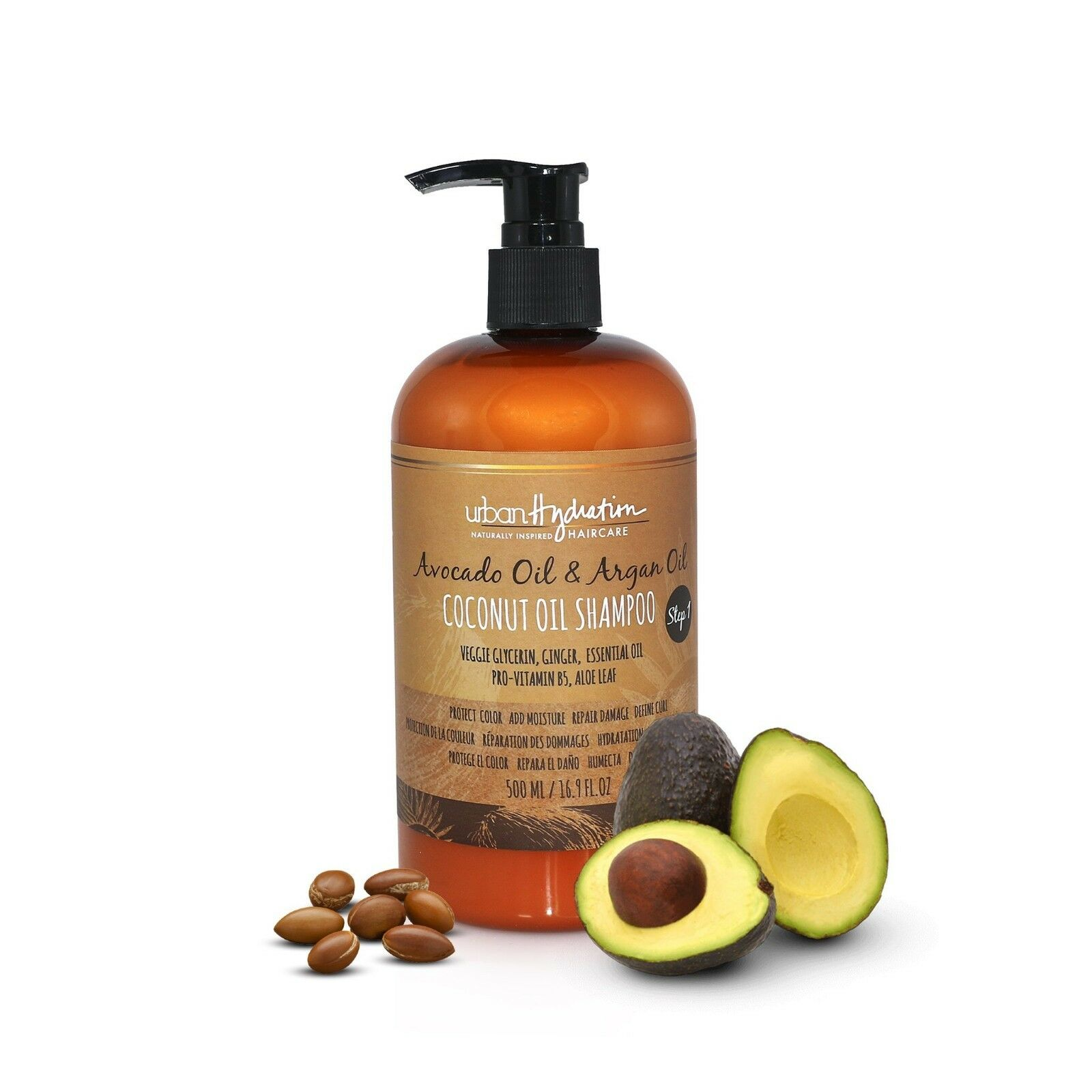 Urban Hydration Avocado Oil & Argan Oil Coconut Oil Shampoo 16.9oz Health & Beauty