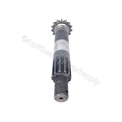 Servis Rhino Se4 Cutter Gearbox Output Pinion Gear Shaft 00752480 Pn 03-004