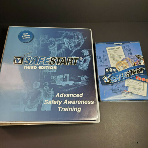 SafeStart Safety Awareness Office Training Program & Family DVD Video