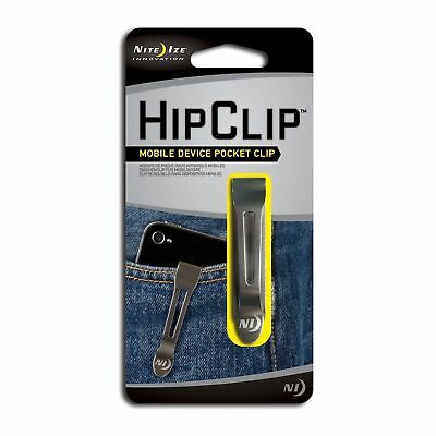 Nite Ize HipClip Lightweight Stainless Steel Universal Adhesive Pocket/Belt Clip