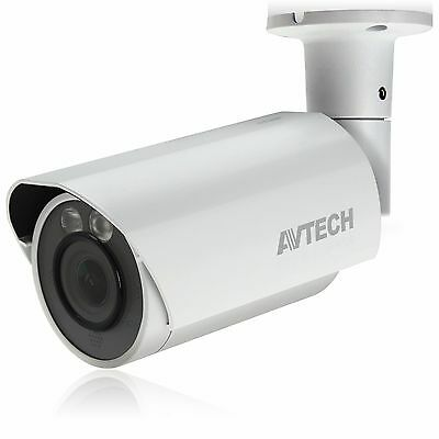 AVTECH HD CCTV Bullet Camera:HD-TVI 2MP/1080P IR VARIFOCAL MOTORIZED LENS Vari Focal Cctv Camera
