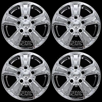 "4 CHROME 2014-2017 Toyota TUNDRA 18"" Wheel Skins Hub Caps Full Alloy Rim Covers"