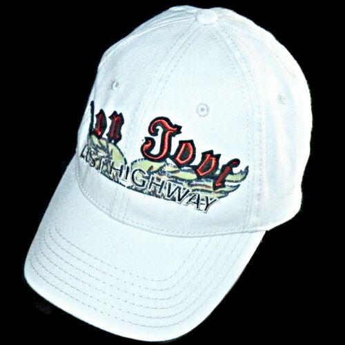 Bon Jovi Lost Highway Licensed Tour 2007 Rock Tattoo Art Fitted Baseball Hat Cap