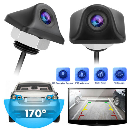 170º CMOS Car Rear View Reverse Parking Backup Camera Waterproof Night Vision HD