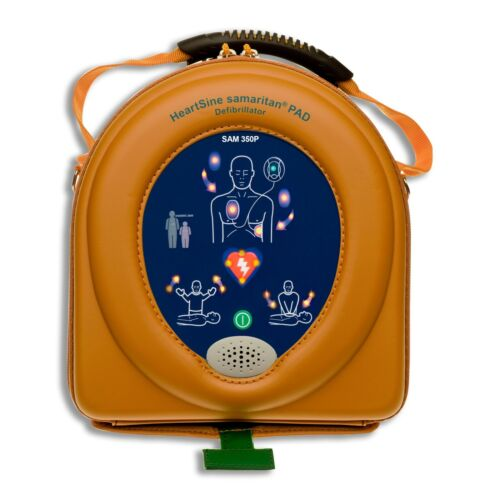 Heartsine Samaritan 350P AED Semi Automatic 2023 Pads and Battery