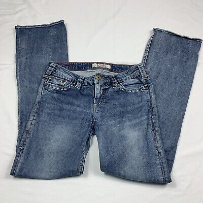 Western Glove Works 1921 Womens Jeans Boot Cut Organic Cotton Blue Size 30x34 1921 Jeans Cotton Jeans