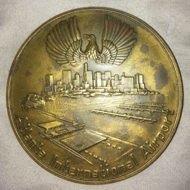 EASTERN AIRLINES ATLANTA INTERNATIONAL AIRPORT MEDALLION