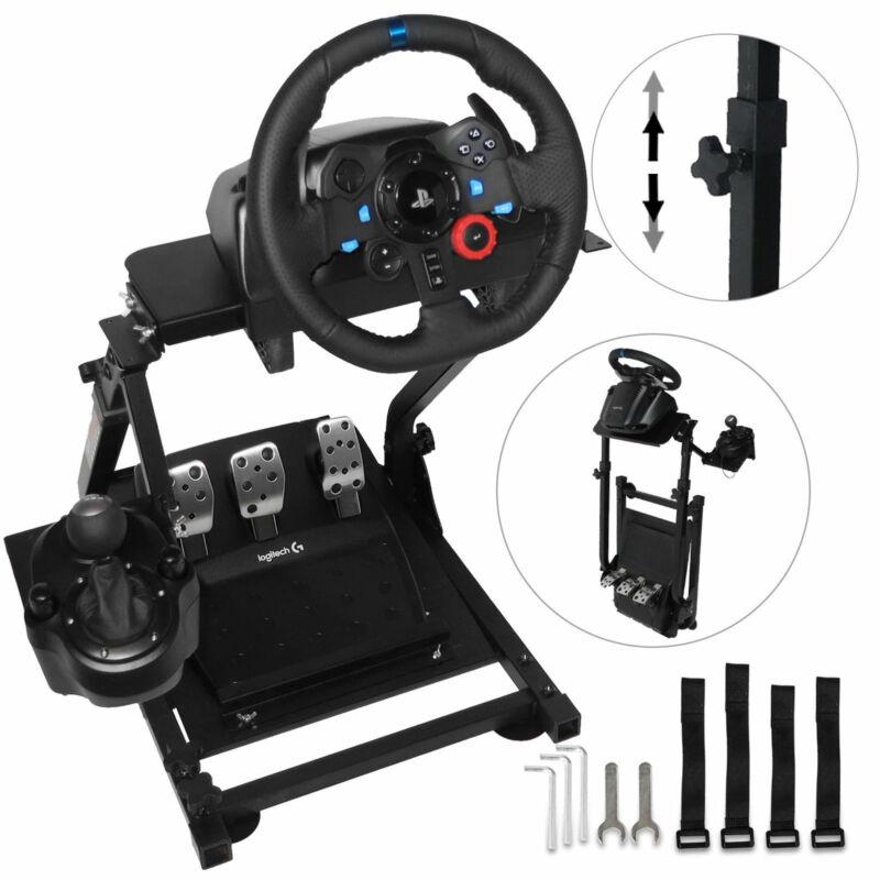 Racing Simulator Cockpit Steering Wheel Stand for Logitech G29 G920 Thrustmaster
