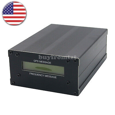 Gpsdo Gps Colck 10m Wlcd Display Frequency Message Disciplined Oscillator Usa-