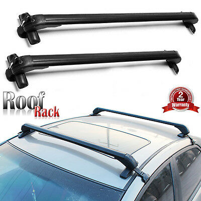 Universal Roof Rack Anti-Theft Suitable for 4 or 5 Door Cars Without Rail (Hyundai Elantra Touring Roof Rack Cross Rails)