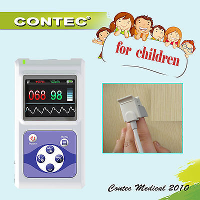 Child Kids Pediatric Pulse Oximeterblood Oxygen Saturationspo2pulse Rate