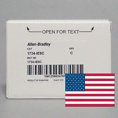 20172018 Us Stock Allen-bradley Point Io 8 Point Analog Input Module1734-ie8c