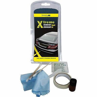 XTREME DEMISTER Element Repair Kit Heated Rear Back Window Screen Repair XRDR1