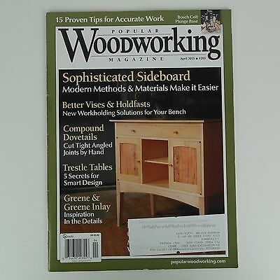 - Popular Woodworking - Sophisticated Sideboard, Compound Dovetail Plans