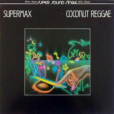 "Supermax – Coconut Reggae 1983 Ariola 600 791-213 Electricity 12"" Maxi-Single"