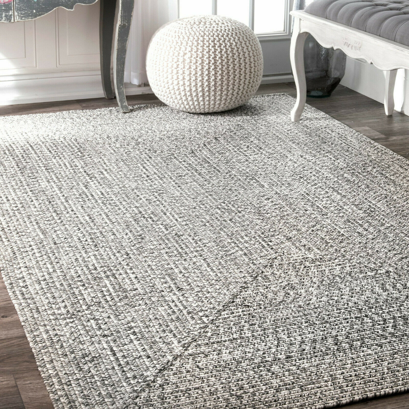 Indoor Outdoor Rug Braided Rugs Small Large Patio Kitchen Li