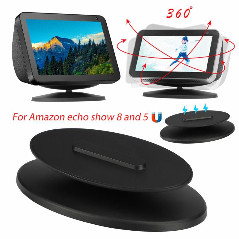 360° Magnetic Speaker Docks Adjustable Tilting Stand for Amazon Echo Show 5/8