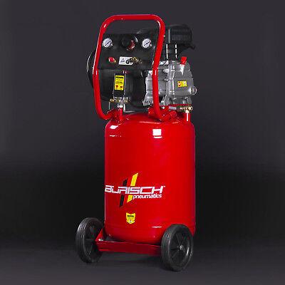 Air Compressor 2.5HP 50L Vertical Upright BURISCH Portable 9.5 CFM