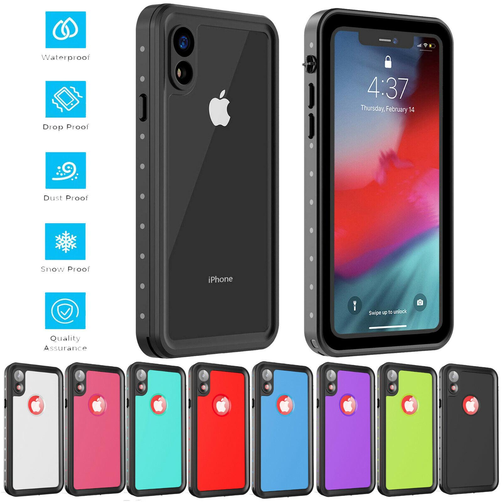 For Apple iPhone XR Life Waterproof Case Shockproof Dirtproo