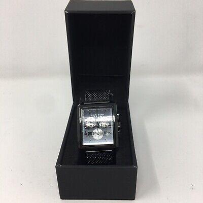Akribos XXIV Men's Rectangular Quartz Chronograph Date Stainless Steel Bracelet