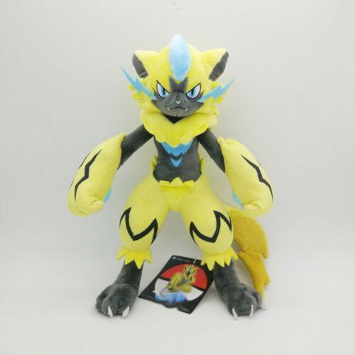 "30cm 12"" Pokemon Zeraora Plush Toy Soft Doll Animal Stuffed Plush Doll Gift"