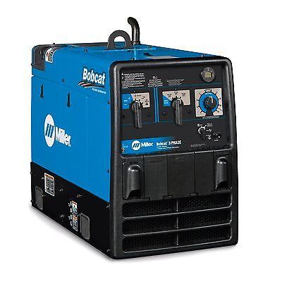 Miller Bobcat 3 Phase Kohler Engine Weldergenerator 907505