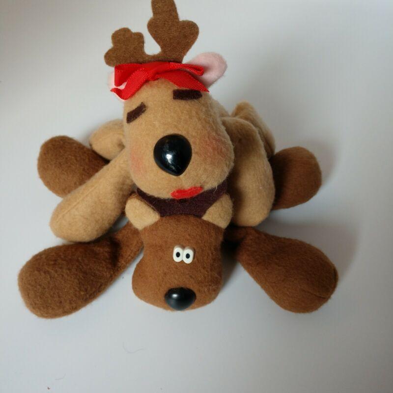 Hallmark Vintage Rodney & Ramona Reindeer Plush