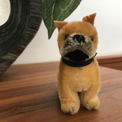 Steiff Hund DOG Boxer SARRAS stehend, 10 cm wie 1310,00, ohne ID's, sehr gut