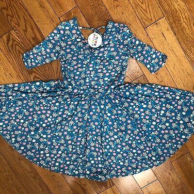 NWT Dot Dot Smile Twirly Summer dress Girls Ballerina Floral  - Twirly Girl