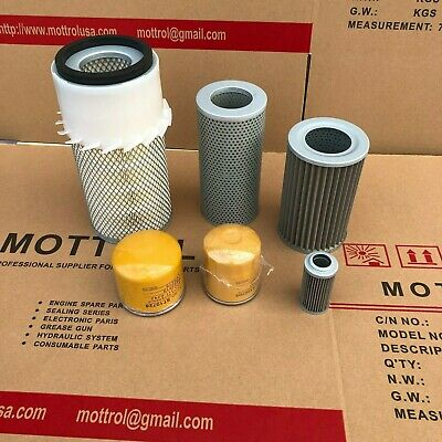 Fits For Komatsu Pc60-5 4d95 Engine Filter Air Fuel Oil Hydraulic Service