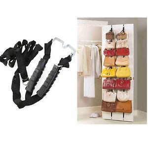 2× Handtaschengarderobe Taschenhalter Taschenorganizer Garderobe Taschen