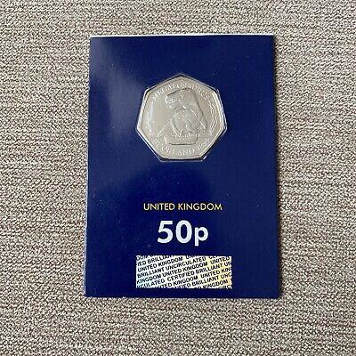 2020 megalosaurus 50p coin BUNC