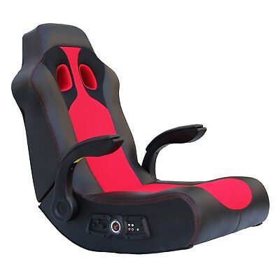 Gaming Chair Speakers - Gaming Chair X Rocker With  Bluetooth Vibration Floor Gamer Seat Speakers PC PSP
