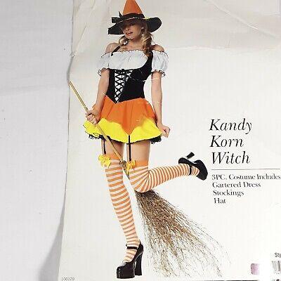 Candy Corn Witch Halloween Costume Womens By Leg - Kostüm Candy Corn