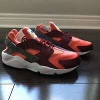 c237f74ef2fc New without box NIKE AIR HUARACHE GUNSMOKE TEAM RED CORAL WHITE - NEW -  SAMPLE - Size 9 Best Offer
