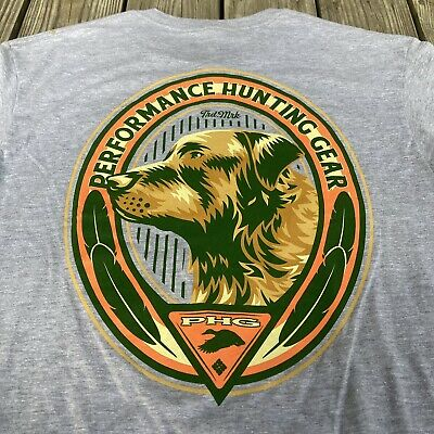 NWT Columbia Sportswear PHG Performance Hunting Gear Bird Dog Outdoor T Shirt L