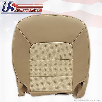 2003 - 2006 Ford Expedition Driver bottom Leather seat Replacement cover Tan (Ford Expedition Replacement Driver)