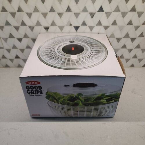 OXO Good Grips Salad Spinner Large Clear 32480. Brand New.