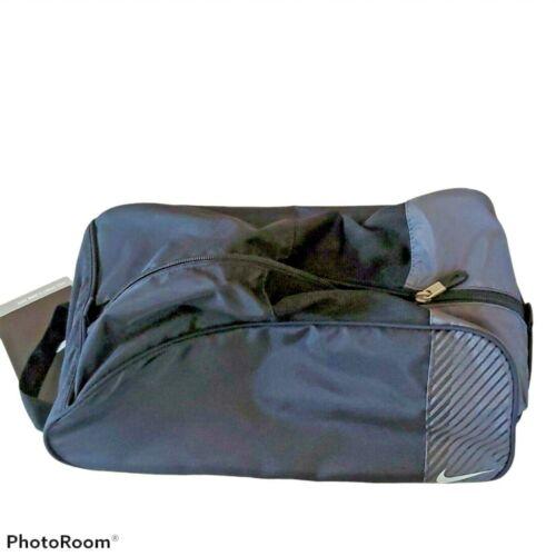 Nike Sport II Shoe Tote Bag  Black   Mesh Vented  Zipper  Unisex