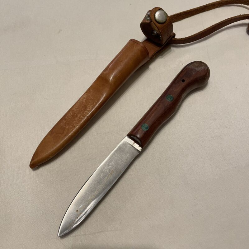 vintage E.A. Berg Knife Eskiltuna Sweden Inox 248-4