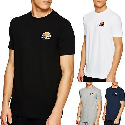 Ellesse Canaletto T-Shirt - Black, White, Blue, Grey - XS, S, M, L, XL