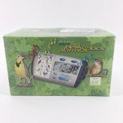 Birdsong IdentiFlyer Desk Alarm Clock NEW in Box Birds Nature Singing