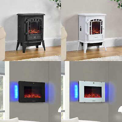 Elektrischer Kamin Elektro Kamin Ofen Heizung Heizlüfter Feuereffekt