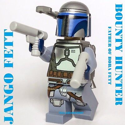 LEGO STAR WARS JANGO FETT BOUNTY HUNTER FROM SET 75015 NEW BOBA FETT DAD JABBA   (Jango Fett From Star Wars)